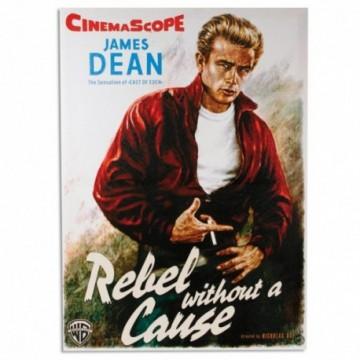 KELLEN WHITEHEAD Film Star James Dean Rebel of Eden Affiche De D/écoration Dr/ôle De Panneau De Mur en M/étal Art