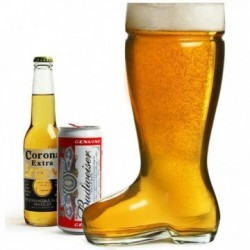 Verre Géant Bière Botte